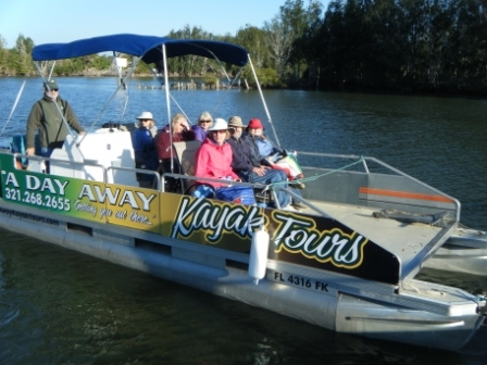 Pontoon Boat Nature Tours